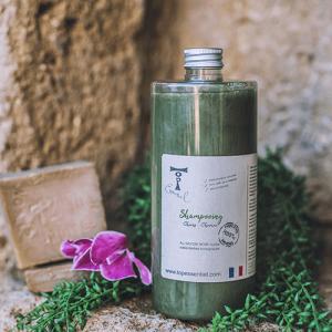 Shampooing au Savon Noir et huiles essentielles bio